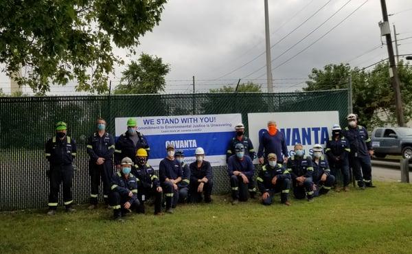 Covanta Camden Environmental Justice Support