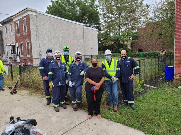 Camden Lot Cleanup