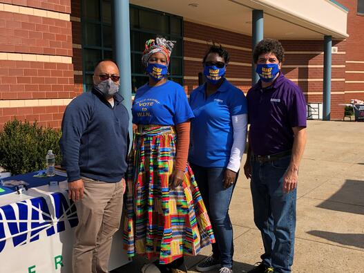 Covanta Team with NAACP Chapter President