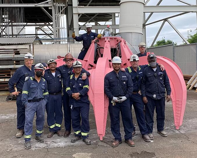 Maintenance Team and new Grapple