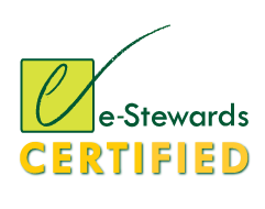 E-stewards logo certified