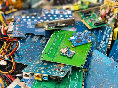 E-waste continues increase and pile up in landfills across the world.