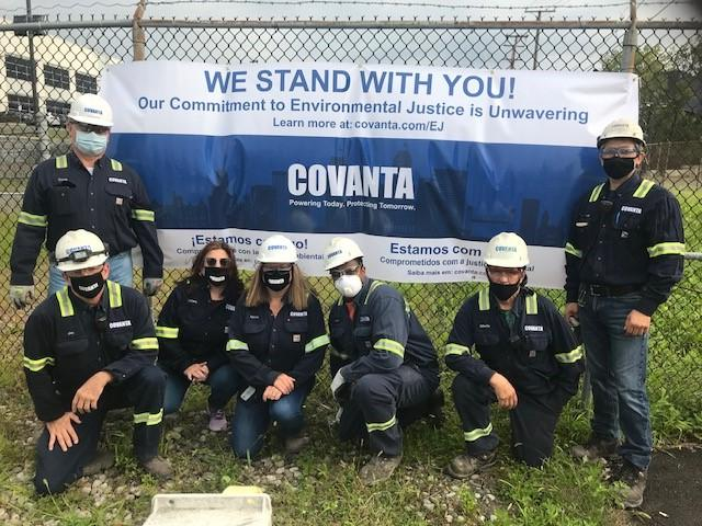 Covanta Environmental Justice Support