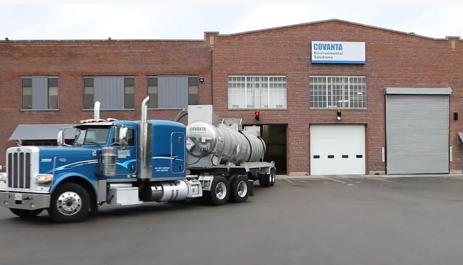 Milwaukee facility and tanker truck