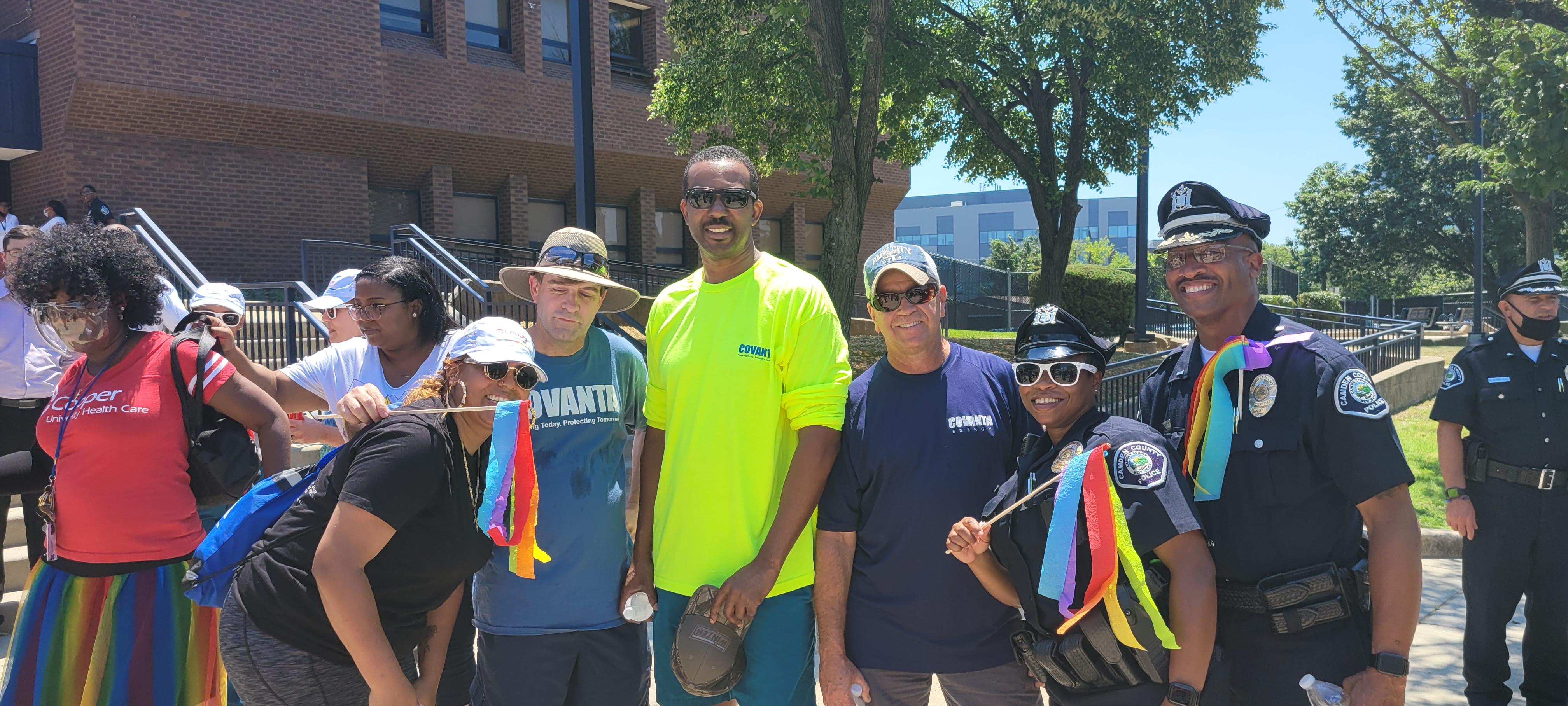 Camden Participates in Police Pride Walk