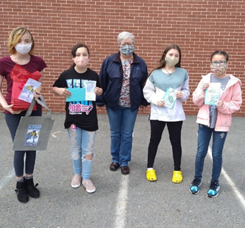 Lancaster Supports Local Middle School Art Contest